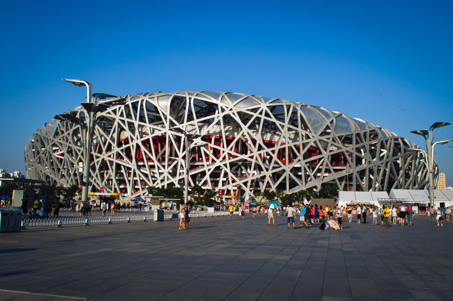 Bird's Nest stadium (Photo By David Almelda)