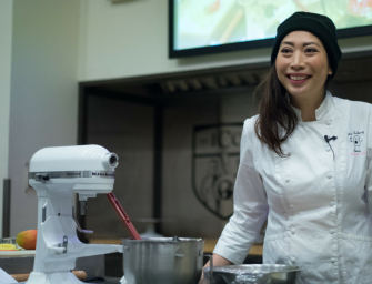 Former runway model Clarice Lam describes her transition to a pastry chef at ICC