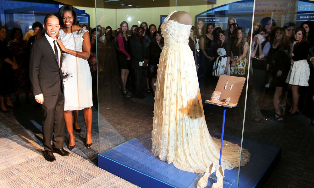 Jason Wu and Michelle Obama