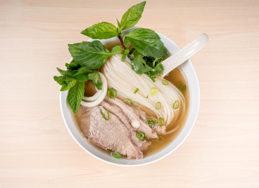 Asians soups, Nomz, pho