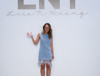 Designer Lisa N. Hoang breaks into the fashion industry at a young age